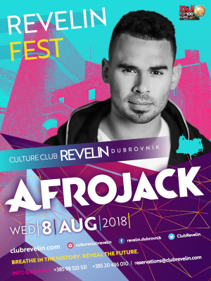 Afrojack at Revelin Festival