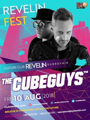 The Cube Guys at Revelin Festival