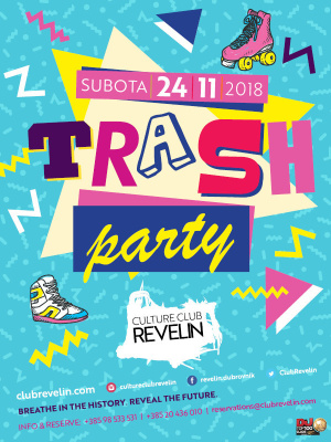 Trash Party, Saturday, November 24th, 2018