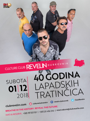 40 godina Lapadskih Tratincica, Saturday, December 1st, 2018
