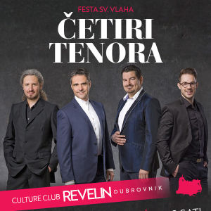 Cetiri tenora Live, Sunday, February 3rd, 2019