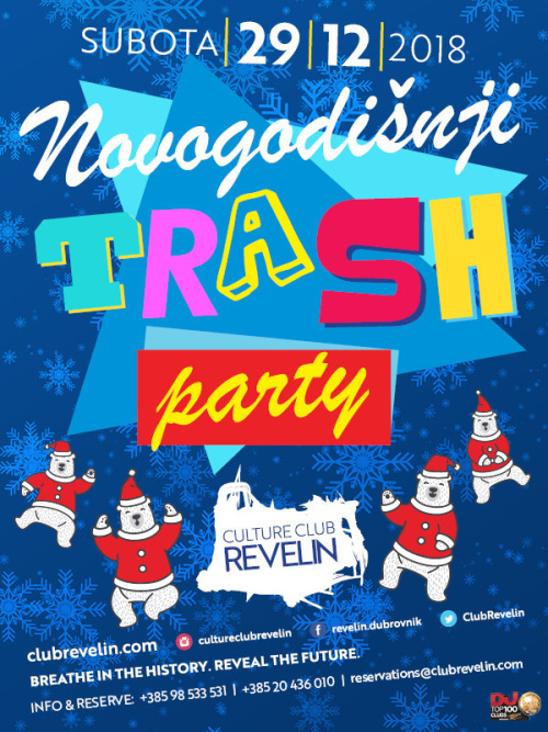 Novogodišnji Trash Party - Culture Club Revelin