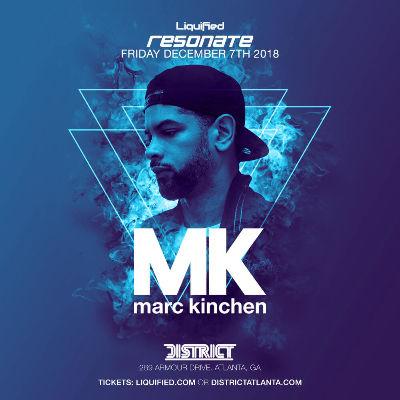 Resonate Fridays: MK Marc Kinchen, Friday, December 7th, 2018