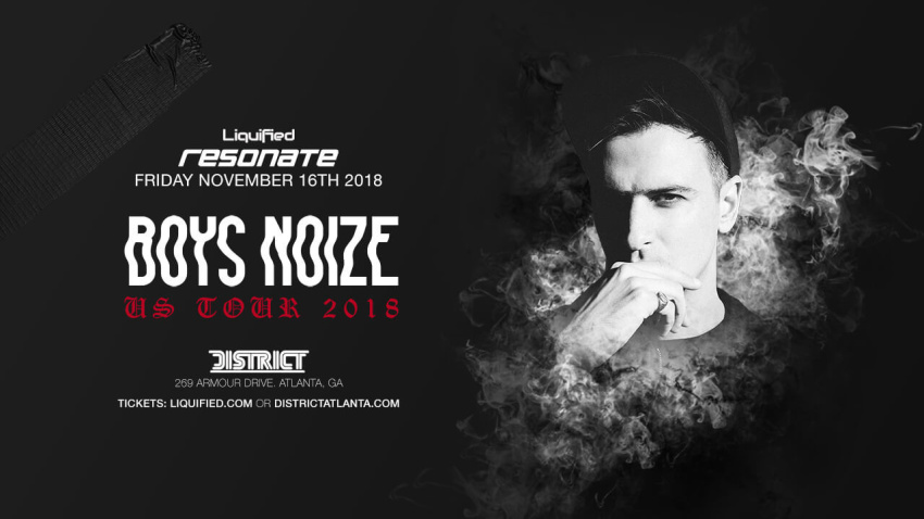 Resonate Fridays: BOYS NOIZE