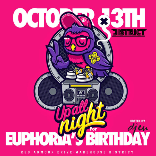 Euphoria's Birthday feat. DJ EU - District