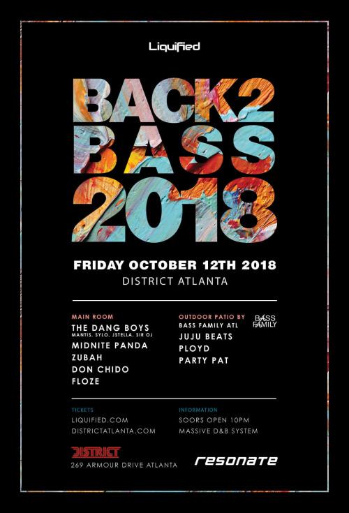 Back 2 Bass 2018 - District