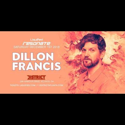 Dillon Francis, Saturday, December 1st, 2018