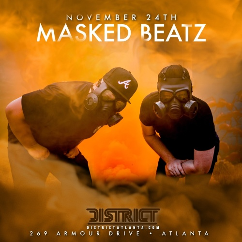 We Are The City Saturday's: Feat. Masked Beatz - District