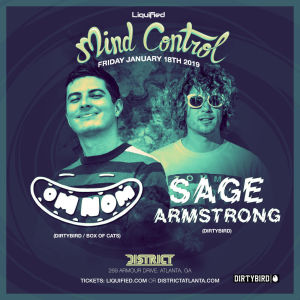 Mind Control: Feat. Omnom & Sage Armstrong, Friday, January 18th, 2019