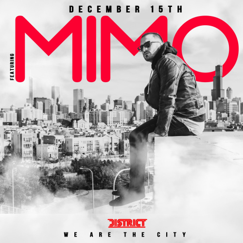 We are the City Saturday's w/ Mimo - District