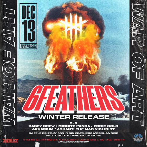 War of Art: 6 Feathers Winter Release - District