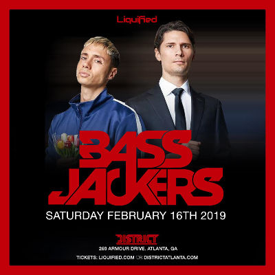 District, Liquified & RSVP ATL Presents: BASSJACKERS, Saturday, February 16th, 2019