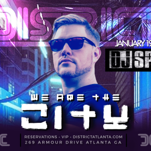 We Are The City Saturdays: Feat. DJ SPY, Saturday, January 19th, 2019