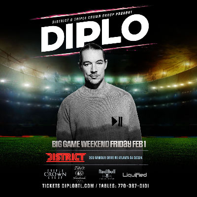 DIPLO | Big Game Weekend | Friday February 1st 2019, Friday, February 1st, 2019