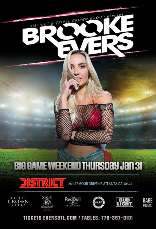 WELCOME TO ATL ft Brooke Evers & More! | Big Game Thurs | District Nightclub - District