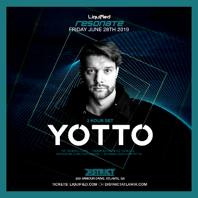 Liquified Present: Resonate feat. YOTTO, Friday, June 28th, 2019