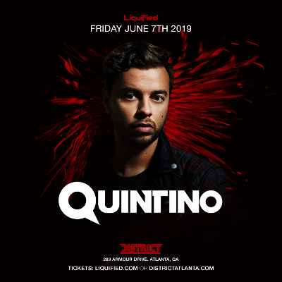 Liquified Presents: Quintino, Friday, June 7th, 2019