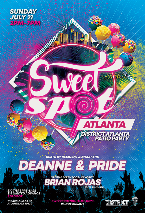 SWEET SPOT ATLANTA W/ DEANNE, PRIDE AND BRIAN ROJAS - District