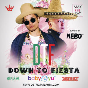 Triple Crown Presents: DTF feat. DJ Baby Yu, Saturday, May 4th, 2019