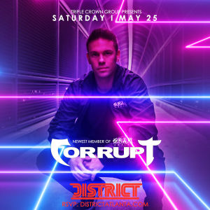 Triple Crown Presents DJ Corrupt, Saturday, May 25th, 2019