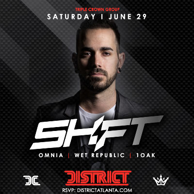 Triple Crown Presents Vegas Take Over w/ DJ SHIFT, Saturday, June 29th, 2019