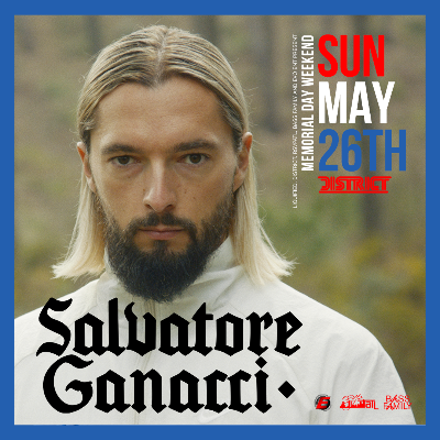 Liquified Presents: SALVATORE GANACCI, Sunday, May 26th, 2019