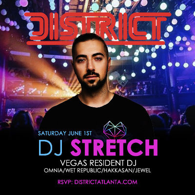 STATUS Saturdays: Feat. DJ Stretch, Saturday, June 1st, 2019