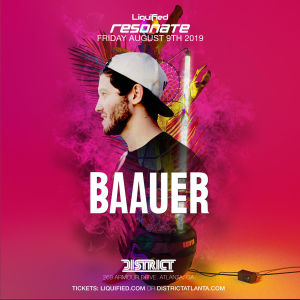 Baauer, Friday, August 9th, 2019