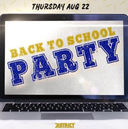 Back 2 School Bash 2019 - District