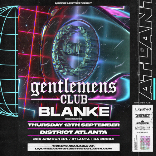 Gentlemens Club w/Blanke - District