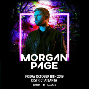 Morgan Page, Friday, October 18th, 2019