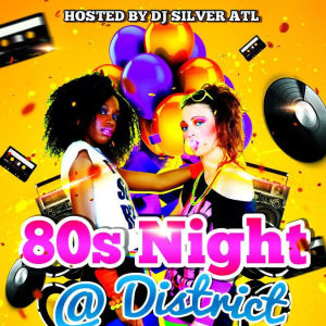 80's Night, Friday, September 20th, 2019