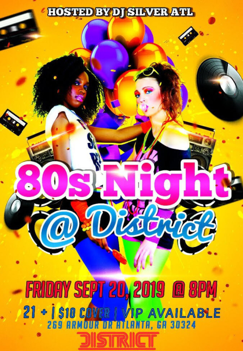 80's Night - District