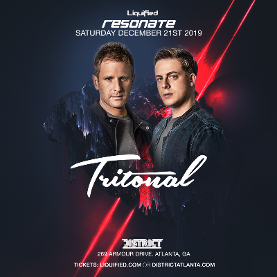 Tritonal, Saturday, December 21st, 2019