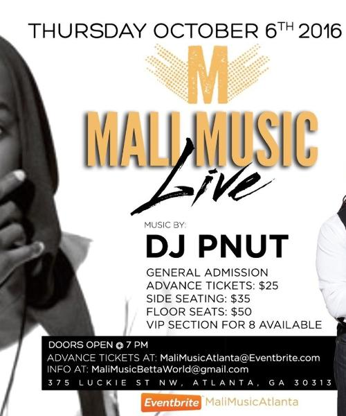 Mali Music Performing Live