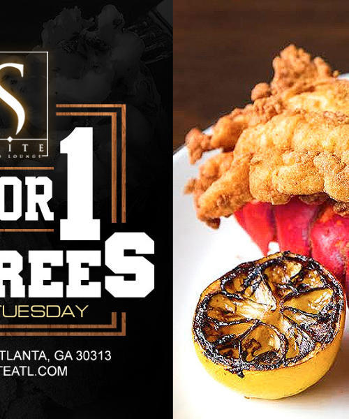 Two for One Entree Tuesday