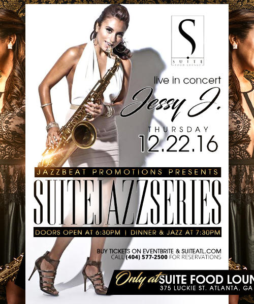 Suite Jazz Series Presents Jessy J.