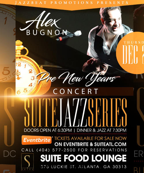 Suite Jazz Series Presents Alex Bugnon