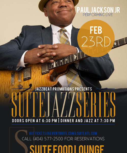 Paul Jackson Jr. Live at Suite