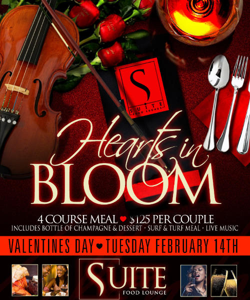 Hearts in Bloom - Valentine Dinner at Suite
