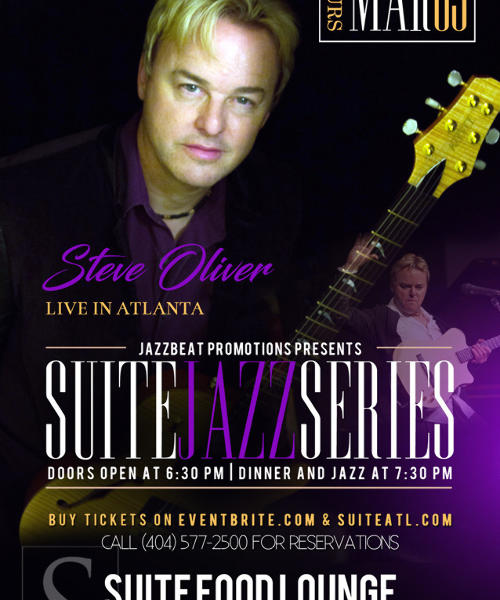 Suite Jazz Series Presents Steve Oliver