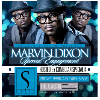 Comedy Kitchen Special Engagement with Marvin Dixon
