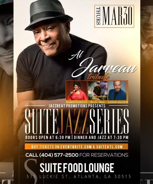 Suite Jazz Series Presents a Tribute to Al Jarreau