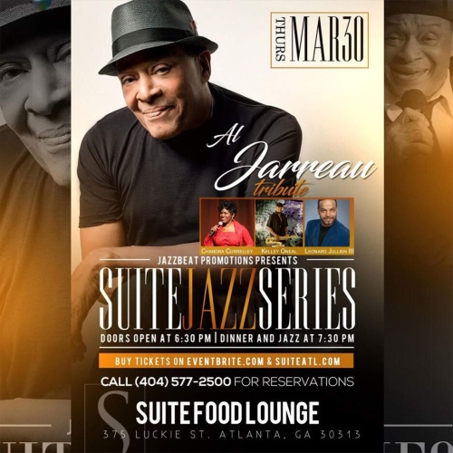 Suite Jazz Series Presents a Tribute to Al Jarreau