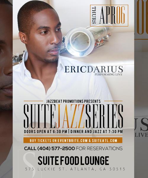 Suite Jazz Series Presents Eric Darius