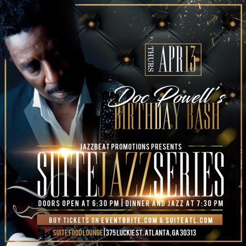 Suite Jazz Series Presents Doc Powell