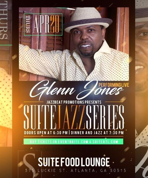 Suite Jazz Series Presents Glenn Jones