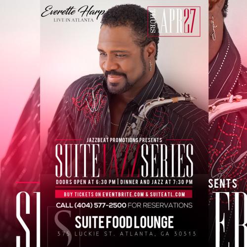 Suite Jazz Series Presents Everette Harp