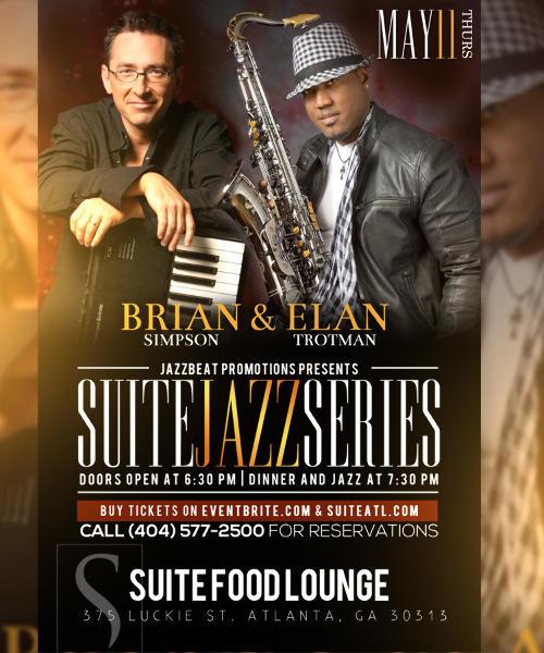 Brian Simpson and Elan Trotman Performing Live