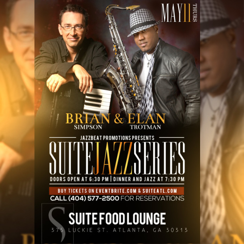 Brian Simpson and Elan Trotman Performing Live